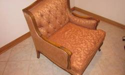 $5 Used Tan Easy Chair- Old style