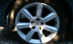 "$600 350Z Nissan 17"" wheels stock rims / wheels and like new"