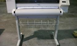 $600 OBO HP Design Jet 650c color printer/ and 12 rolls of