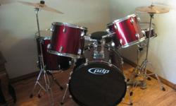 $600 PDP Drumset with Cymbals For Sale