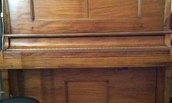 $600 Playotone antique upright player piano