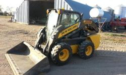 $60,000 2012 New Holland Skid Steer