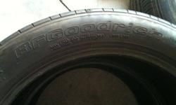 $60 255 45 18 Pair(2) tires BF Goodrich G-force tires.