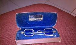 $60 Ben Franklin Spectacles and Case
