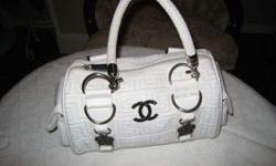 $60 Black and White Chanel Bag (edmond)