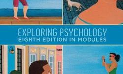 $60 OBO Exploring Psychology Eight Edition in Modules By