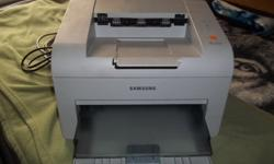 $60 Samsung ml-2510 mono laser printer