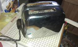 $60 Vintage Toastmaster 1B14 Toaster - Post World War 2