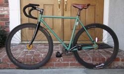$625 OBO Built Track Bike w. Carbon Components