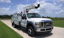 $62,500 ETI ETC37IH / 2008 Ford F550 Bucket Truck - Stock #