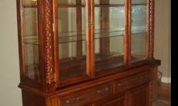 $650 China Cabinet and Buffet (Price Negotiable)