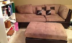 $650 OBO sofa for sale-less than a year old