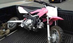 $650 Pink 50 cc Dirt Bike Like New (anchorage)