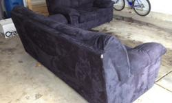 $650 Two black couches