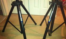 $65 Pair of Speaker Stands Lightweight Samson LS2