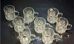 $66 Clear Turkish Crystal glass set