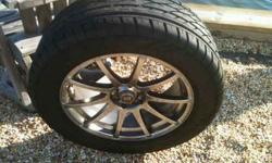"$675 18"" tires and wheel rims"