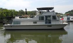 $67,000 1989 Harbor Master Houseboat