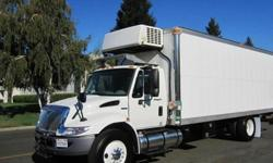 $67,000 2010 international 4300 22 foot cold plate reefer