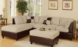 $699 Sectional Sofa W/ Chaise