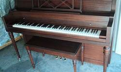 $699 STEINERT CONSOLE PIANO-FREE DELIVERY TO 1st FLOOR IN