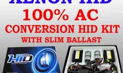 $69 100% AC Slim Conversion HID Kit carry all model Fit High