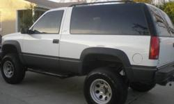 $6,000 1999 Chevy Tahoe Sport 4wd