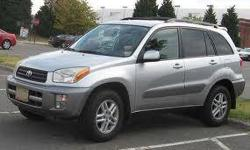 $6,495 Used 2001 Toyota RAV4 for sale.