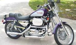 $6,500 2001 HARLEY SPORTSTER XL1200C Negotiable Must Sell