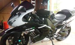 $6,500 OBO 2007 Kawasaki Ninja ZX10R with LOW MILES