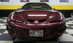 $6,900 2001 Maple Red Metallic Pontiac Firebird