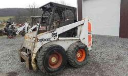$6,900 Bobcat 843 Skid Steer -