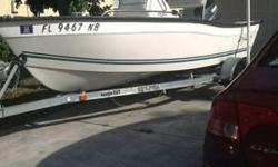 $6,900 OBO 2006 16ft Key Largo CC160 with 50hp Yamaha