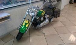 $6,999 This 2002 HARLEY-DAVIDSON FLSTC . The vehicle is