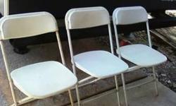 $6 plastic folding chairs