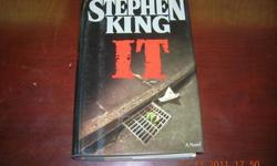 $6 Stephen King It Novel-good condition