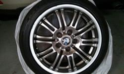 "$700 BMW M3 Wheels - E46 18"" Staggered"