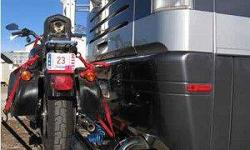 $700 Motor Cycle Carrier Blue OX SC 2000