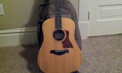 $700 OBO Big Baby Taylor Acoustic Guitar plus gig bag and