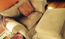 $700 Sofa and armchair w/ottoman