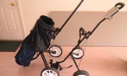 $70 2 Golf Pull Carts/ $30 Each/ + Bag/ is $20