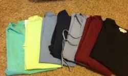 $70 Like New Scrubs - 12 scrub tops//7 scrub bottoms