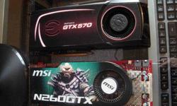 $70 MSI Nvidia 260 GTX OC (core 216) Graphics Card