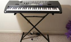 $70 OBO Casio Electronic Keyboard with Stand