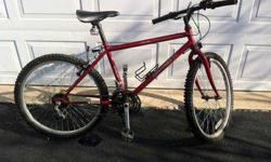 "$70 Research Dynamics Mountain Bike, 24"" wheels"