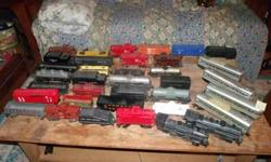 $720 Huge X Large Lot of Train Cars
