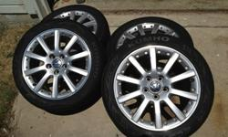 "$725 VW 17"" Orca rims with Kumho XS Tires"