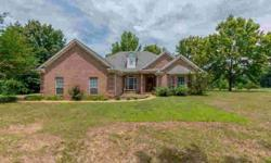 7292 Dunn Lane Olive Branch Three BR, Custom built home
