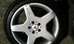 "$750 18"" Mercedes AMG wheels with tires (Louisville)"