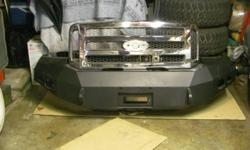 $750 2005 - 2007 Ford F250 F350 4X4 Winch Bumper with Grill